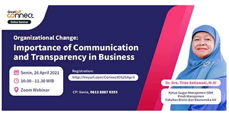 Importance of Communication and Transparency in Business tickets
