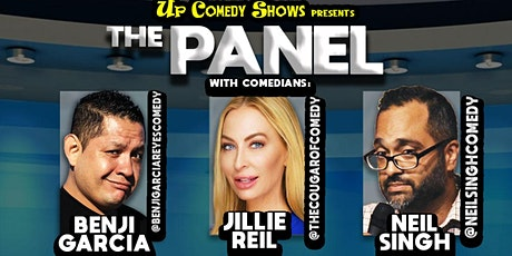 The  MONDAY Panel Comedy Show - 4/26 at 7:00 pm PST tickets
