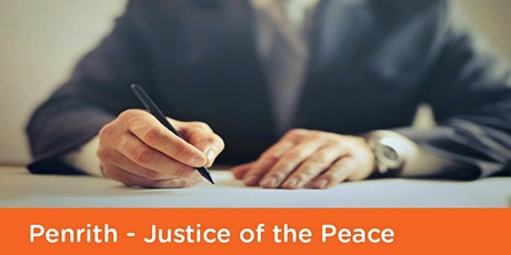Justice of the Peace: Penrith Library  -  Friday 30th April 2021 tickets