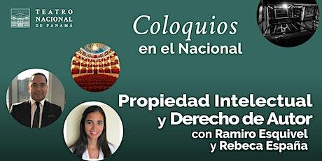 Conversatorio Presencial / Propiedad Intelectual y Derecho de Autor entradas