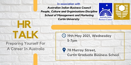 HR Talk: Preparing Yourself for a Career in Australia tickets