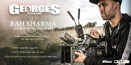 Rah Sharma X Georges Filmmaking  Workshop tickets