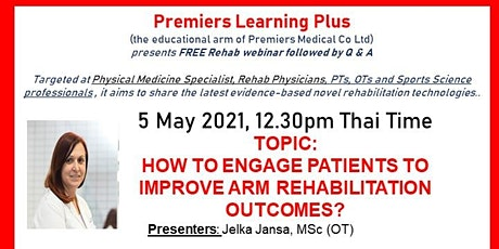 TELE-REHAB: How to engage patients to improve arm rehabilitation outcomes? tickets