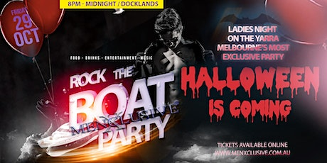 Rock The Boat with MenXclusive HALLOWEEN EDITION 29 Oct tickets