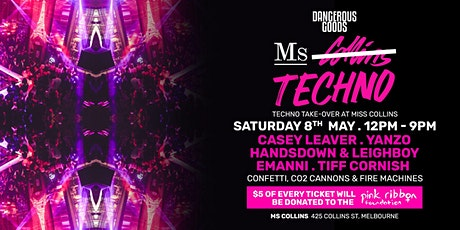 DANGEROUS GOODS PRESENTS -  MS TECHNO tickets