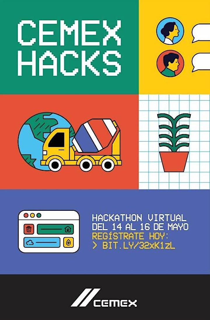 Imagen de CEMEX HACKS - Hackathon Virtual 2021