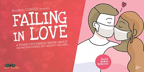 Tonight! FAILING IN LOVE • Stand Up Comedy in English tickets