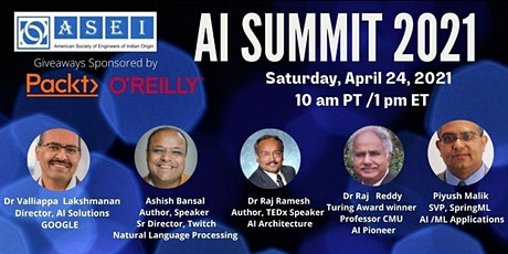 FREE AI Summit 2021 - ASEI tickets