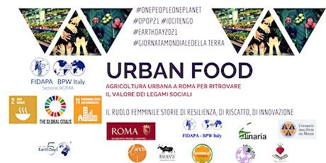 Urban Food : uno sguardo alla città di  Roma biglietti