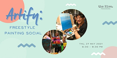 POSTPONED: April Artify: Freestyle Painting Social tickets