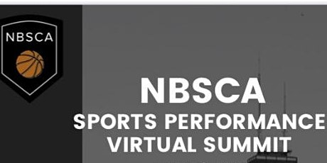NBSCA Sports Performance Virtual Summit 2021 tickets