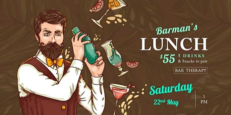 Barman's Lunch - Tequila Edition tickets