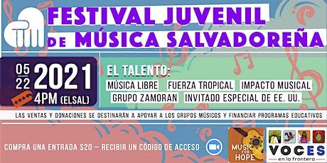 Concierto Solidario: Festival Juvenil de Música Salvadoreña entradas