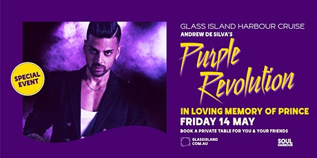 Glass Island - Purple Revolution - Fri 14th May tickets