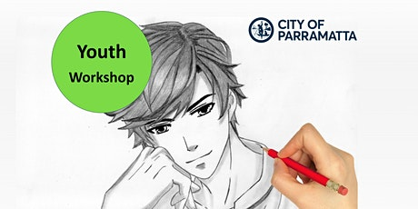 Youth Week 2021-  Drawing Workshop - Stylise your own Character, Epping tickets