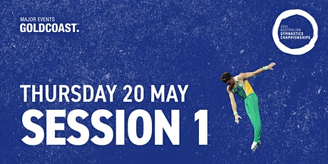 Day 6: Session 1 - 2021 Australian Gymnastics Championships tickets