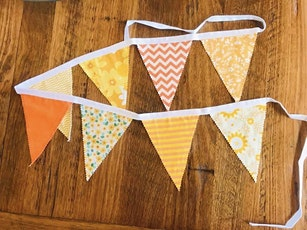 KIDS BEGINNER SEWING MACHINE WORKSHOP:  BUNTING ( 8 - 14 YEARS) tickets