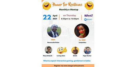 Humor for Resilience Monthly e - Meetup tickets