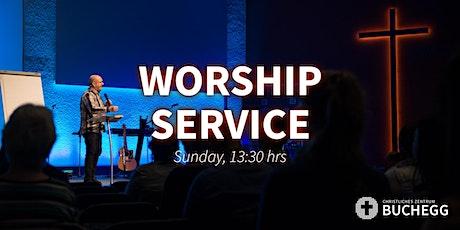 13:30 Worship Service on 25/04/2021 entradas