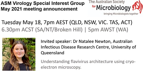 ASM Virology May Meeting with Dr. Natalee Newton, University of Queensland tickets