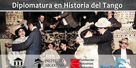 Diplomatura en Historia del Tango - Charla informativa entradas