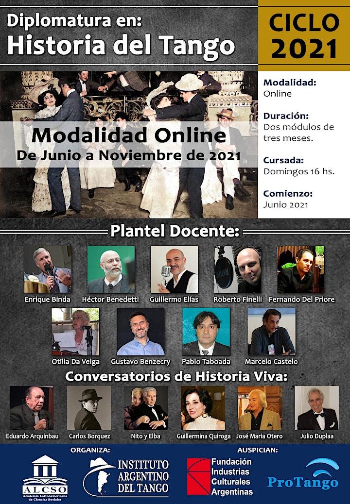 Imagen de Diplomatura en Historia del Tango - Charla informativa