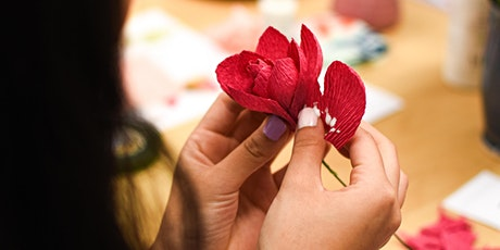 Let's Make Flowers with Carrissa Wu - Mt Flora Artist in Residence tickets