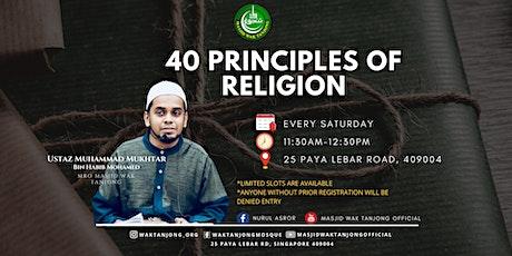 40 Principles of Religion tickets