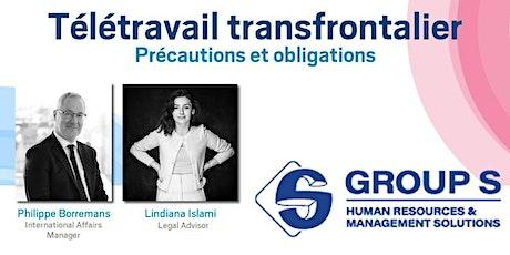 TELETRAVAIL TRANSFRONTALIER :  précautions et obligations billets