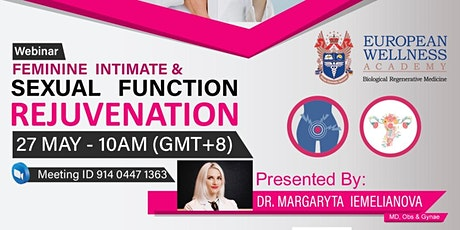 Feminine Intimate & Sexual Function Rejuvenation ingressos