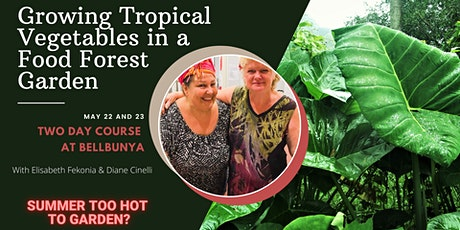 Growing Tropical Vegetables in a Food Forest Garden tickets