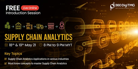 Supply Chain Analytics | Free Session tickets