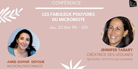 LES FABULEUX POUVOIRS DU MICROBIOTE billets