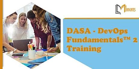 DASA - DevOps Fundamentals™ 2, 2 Days Virtual Training in Charleston, SC tickets