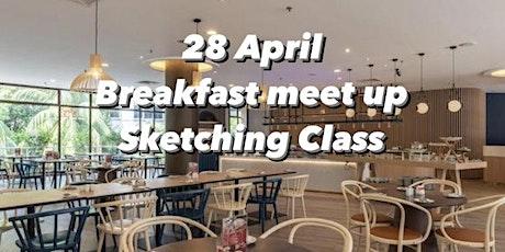 Breakfast Meet up Sketching class tickets