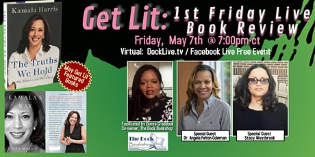 """Get Lit: 1st Friday Live Book Review featuring """"The Truths We Hold: An Amer tickets"""