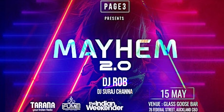 PAGE3 MAYHEM tickets