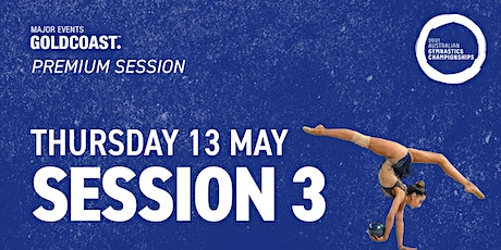 Day 1: Session 3 - 2021 Australian Gymnastics Championships tickets