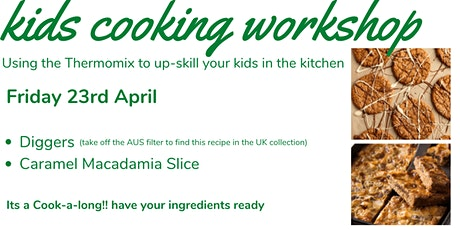 School Holidays Cooking with Kids - Anzac edition tickets