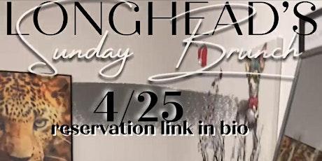 Longhead's Sunday Brunch tickets