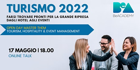 Turismo 2022 | Online Talk e Open Day Master THEM 2022 biglietti