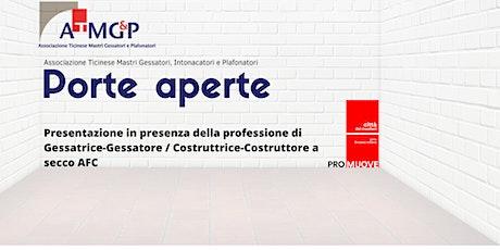 Gessatrice-Gessatore / Costruttrice-Costruttore a secco AFC biglietti