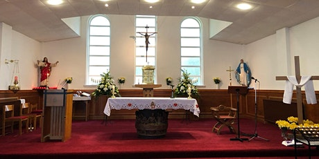 Mass - Sunday Vigil , 24 April ,4.30pm- Sacred Heart, Salsburgh tickets