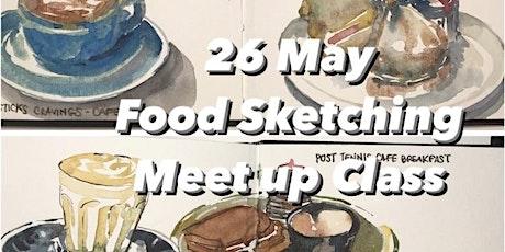 Food Sketching Meetup Class tickets