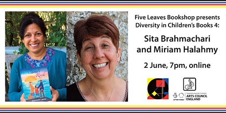 Diversity in Children's Literature 4: Sita Brahmachari and Miriam Halahmy tickets