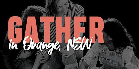 Tomorrow Woman - GATHER - Orange tickets