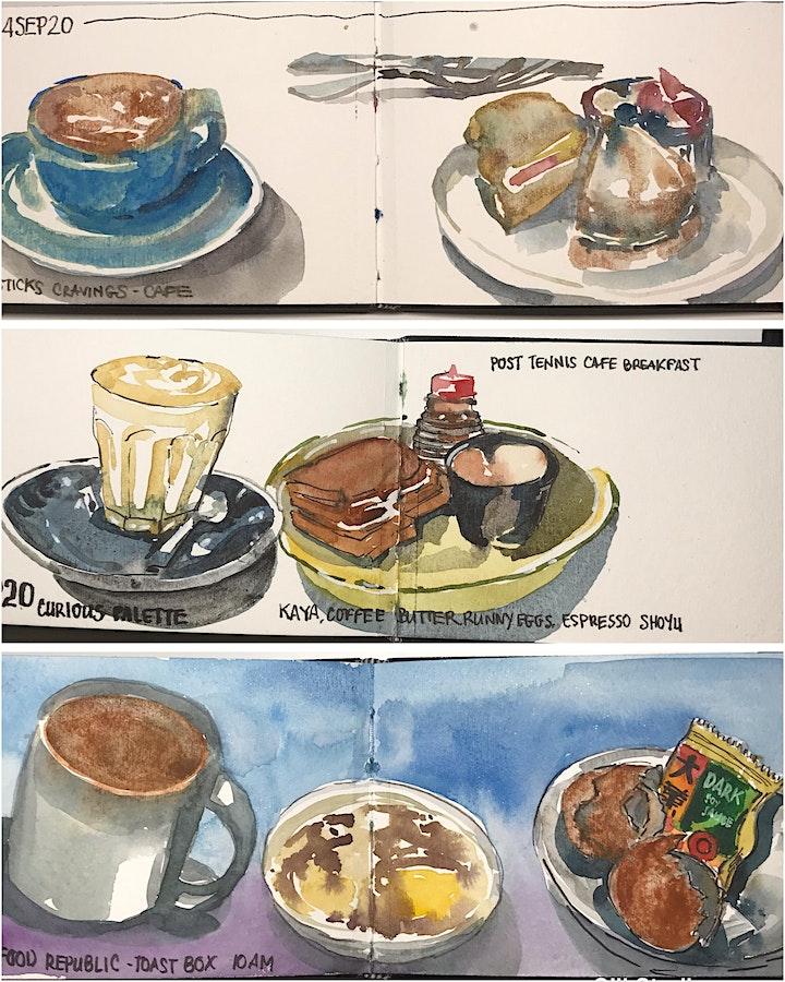 Food Sketching Meetup Class image