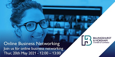 BHCC May Networking Meeting - Zoom tickets