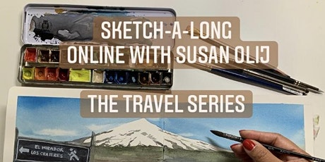 Free online Watercolour and Ink workshop tickets