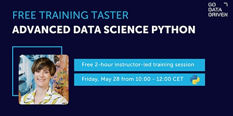 Free Training Taster:  Advanced Data Science with Python tickets
